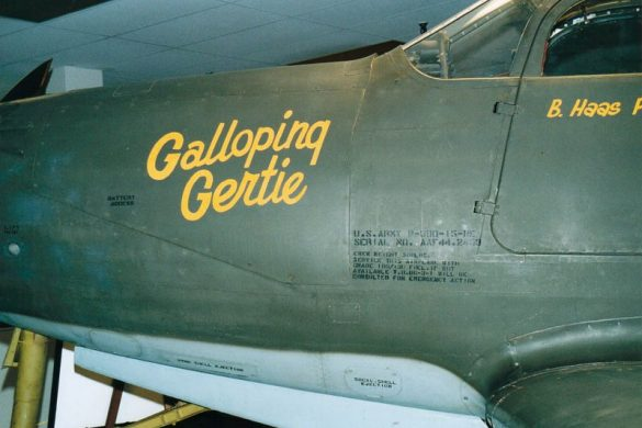 Bell P-39 Airacobra in details