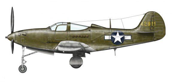 Bell P39Q-15BE 44-2911 Airacobra