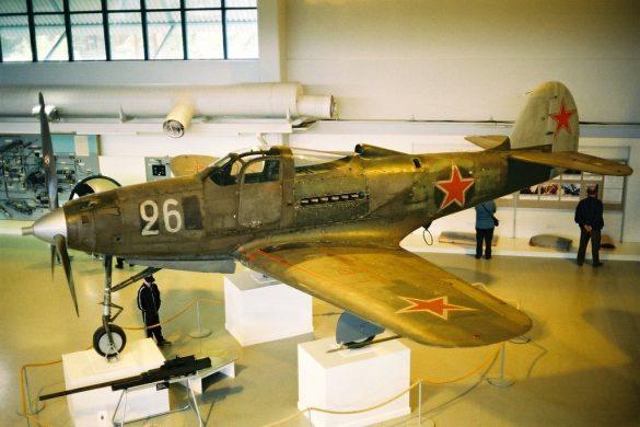 P-39Q Airacobra из музея Tikkakoski, Финляндия