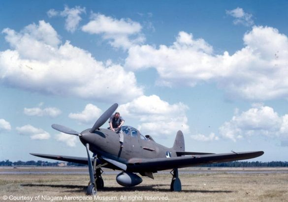 P-39 Airacobra in Color