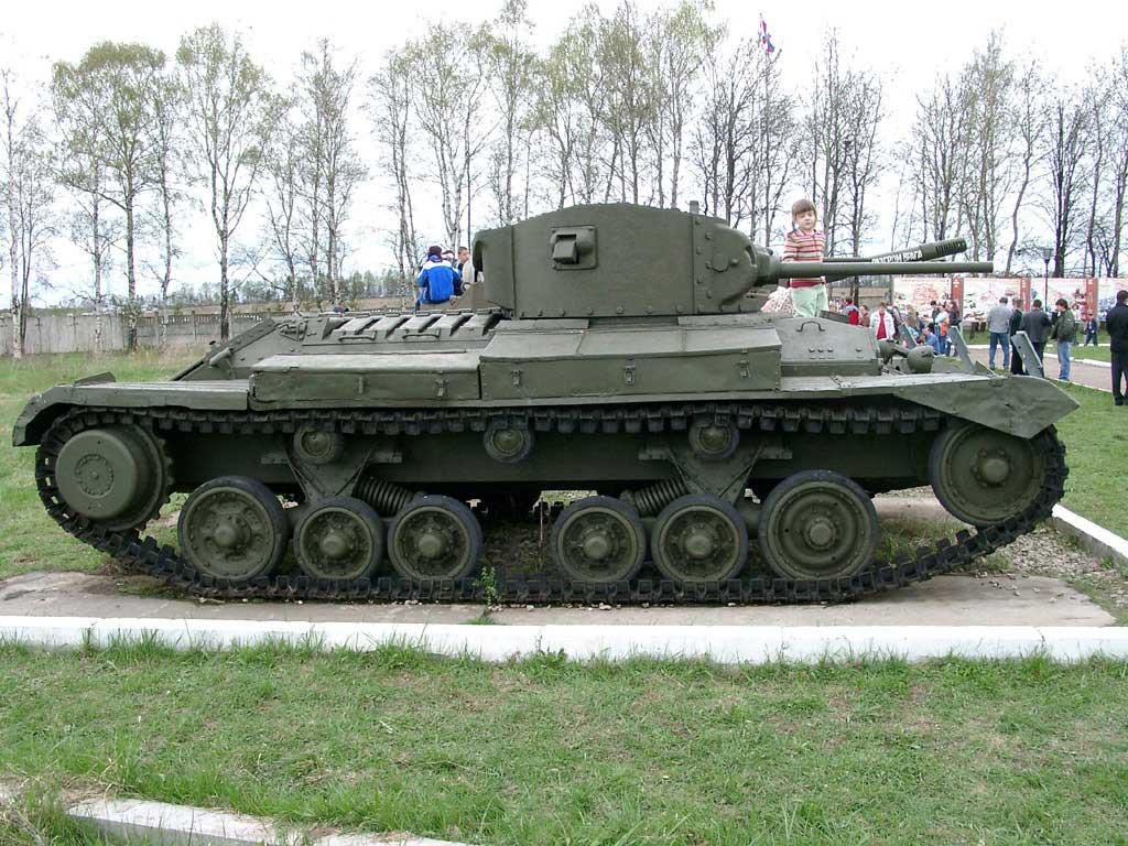 одной танк валентайн фото был несколько